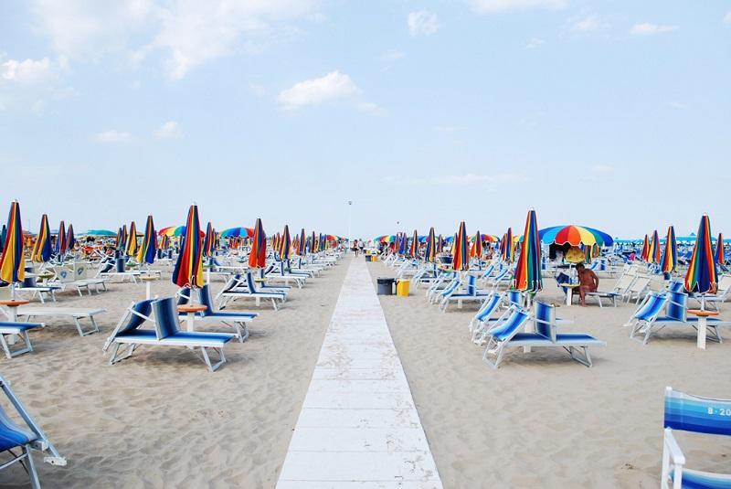 Plajele din Rimini