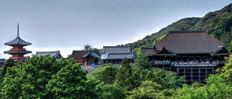 Templul Kiyomizu-dera, Kyoto - Japonia